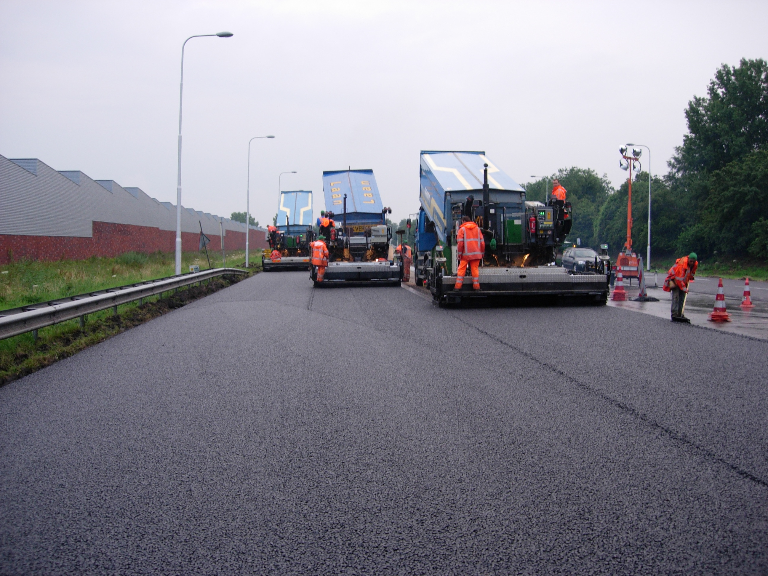 provincie noord-holland n245 asfalt